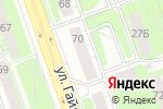 Схема проезда до компании Сакура в Дзержинске