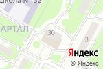 Схема проезда до компании Опора в Дзержинске