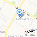 Детский сад №69 на карте Дзержинска