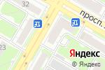 Схема проезда до компании Айболит в Дзержинске