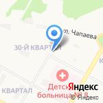 Киоск по ремонту обуви на карте Дзержинска