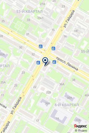 АПТЕКА АЙБОЛИТ на карте Дзержинска