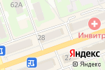 Схема проезда до компании Лиана в Дзержинске