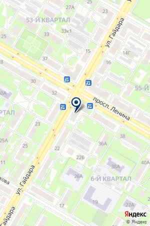 МАГАЗИН ДИОНИС на карте Дзержинска