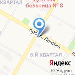 Айболит на карте Дзержинска