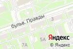 Схема проезда до компании Decor Club в Дзержинске