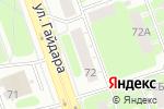 Схема проезда до компании Пента плюс в Дзержинске