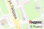 Схема проезда до компании ПРОМКУРС в Дзержинске