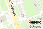 Схема проезда до компании Империя стиля в Дзержинске