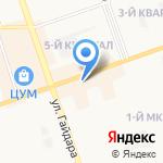 Орхидея на карте Дзержинска