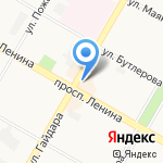 Дачник на карте Дзержинска