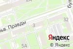 Схема проезда до компании Комфорт в Дзержинске
