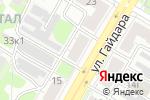 Схема проезда до компании СтройКреп Подшипник в Дзержинске