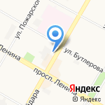 Пункт по приему стеклопосуды на карте Дзержинска