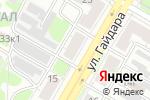 Схема проезда до компании Магазин тканей и штор в Дзержинске