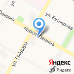 Салон дверей на карте Дзержинска