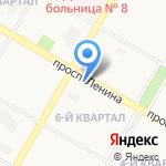 Тамбовчанка на карте Дзержинска