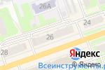 Схема проезда до компании Швейград в Дзержинске