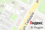 Схема проезда до компании Нижегородская мемориальная компания в Дзержинске