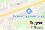 Схема проезда до компании Moda li в Дзержинске