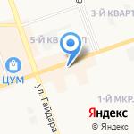 Почта Банк на карте Дзержинска