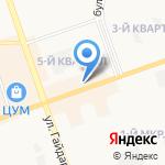Status на карте Дзержинска
