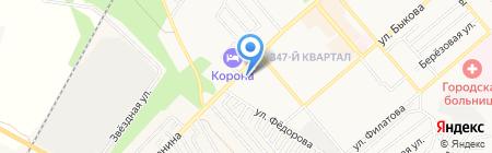 Автомир на карте Георгиевска
