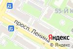 Схема проезда до компании ГЕМОХЕЛП в Дзержинске