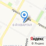 Детский сад №117 на карте Дзержинска