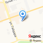 Детский сад №89 на карте Дзержинска