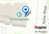 Дзержинский театр драмы на карте