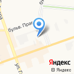 Средняя школа №12 на карте Дзержинска