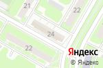 Схема проезда до компании Qiwi в Дзержинске