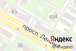Схема проезда до компании Силуэт в Дзержинске
