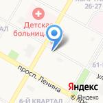 Кольчуга на карте Дзержинска