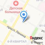 Управляющая компания Окский мир на карте Дзержинска