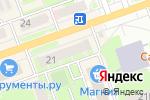 Схема проезда до компании Профессионал-ИНФОРМ в Дзержинске