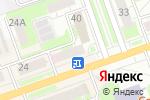 Схема проезда до компании Магазин косметики и игрушек в Дзержинске