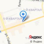 Магазин косметики и игрушек на карте Дзержинска