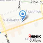 Авто-mix на карте Дзержинска
