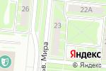 Схема проезда до компании Фермерский Домик в Дзержинске