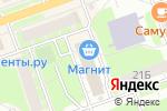Схема проезда до компании Ателье в Дзержинске