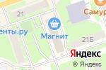 Схема проезда до компании Продуктовый магазин на проспекте Циолковского в Дзержинске
