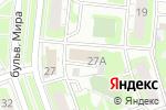 Схема проезда до компании ЭРА рекламы в Дзержинске