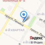 Фрау Штора на карте Дзержинска
