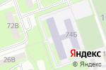 Схема проезда до компании Средняя школа №22 с углубленным изучением французского языка в Дзержинске