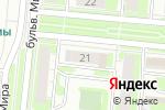 Схема проезда до компании Суши-маркет в Дзержинске