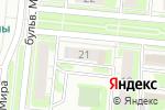 Схема проезда до компании Студия красоты в Дзержинске