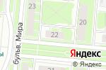 Схема проезда до компании 12 футов в Дзержинске