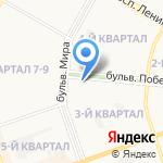 Гарант на карте Дзержинска